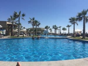 mayan palace pool in Rocky Point Mexico