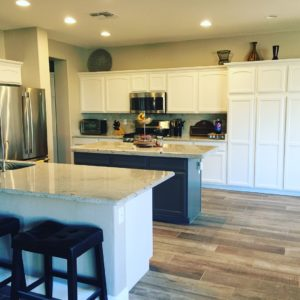 five stages of a home remodel at www.kellyluvs.com
