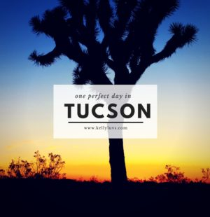 One Day in Tucson AZ Itinerary. Discover more at Kellyluvs.com